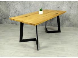 Designový masivní stůl Sam